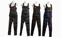 60 Units of Woman's 2pc Tank Top & Sweatpants - Womens Active Wear