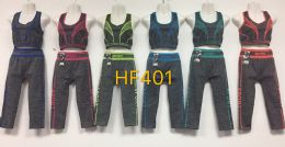 48 Units of Athletic 2Pc Jogger Set With Tank Top & Pants - Womens Active Wear