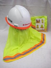 36 Units of Neon Yellow Hard Hat Cover Only - Sun Hats