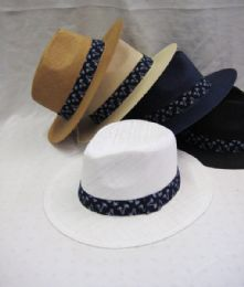36 Units of Man's Large Brim Sun Hat - Sun Hats