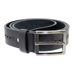 36 Units of Men's Genuine Leather Dress Belts,Black Color Only - Mens Belts
