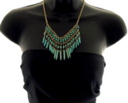 36 Units of Medium length necklace with a few different layers of beads - Necklace