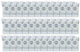 36 Units of Yacht & Smith Kids Premium Cotton Crew Socks White Size 4-6 - Boys Crew Sock