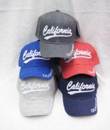 "36 Units of Kid's ""California"" Base Ball Cap - Kids Baseball Caps"