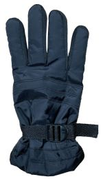 72 Units of Yacht & Smith Men's Winter Warm Gloves, Fleece Lined With Black Gripper - Ski Gloves