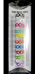36 Units of Toe Rings With Moebius Strip Infinity Symbol Design - Rings