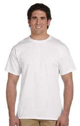 72 Units of Men's Fruit Of The Loom Cotton Blend White T-Shirt, Size 2xl - Mens T-Shirts
