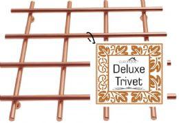 12 Units of Heavy Duty Copper Trivet - Coasters & Trivets