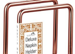 12 Units of Heavy Duty Copper Napkin Holder - Napkin and Paper Towel Holders