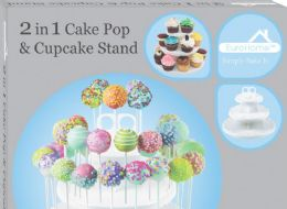 6 Units of 2 IN 1 CAKE POP AND CUPCAKE STAND - Baking Supplies
