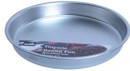 24 Units of Tinplated Round Cake Pan - Baking Supplies