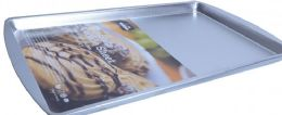 24 Units of Tinplated Small Cookie Sheet - Frying Pans and Baking Pans