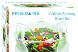 4 Units of Chilled Serving Bowl Set - Serving Trays