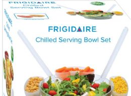 4 Units of Acrylic Chilled Serving Bowl Set - Serving Trays