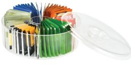 6 Units of Acrylic Tea Bag Storage - Serving Trays