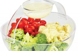 4 Units of Acrylic Chip And Dip - Serving Trays