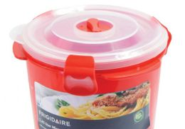 6 Units of Round Microwave Container - Microwave Items