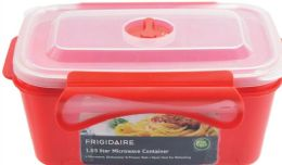 6 Units of Rectangle Microwave Container - Microwave Items