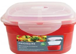 6 Units of Microwave Container With Steamer Insert - Microwave Items