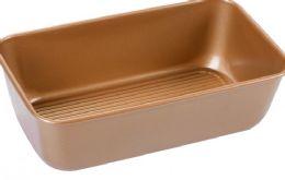 12 Units of Non Stick Loaf Pan Copper Finish - Pots & Pans