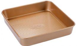 12 Units of Non Stick Square Pan Copper Finish - Pots & Pans