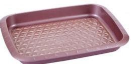 12 Units of Non Stick Baking Pan Rose Gold - Frying Pans and Baking Pans