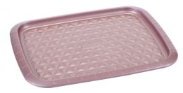12 Units of Non Stick Cookie Sheet Rose Gold - Frying Pans and Baking Pans