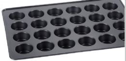 6 Units of Oversized Non Stick Cupcake Tray - Frying Pans and Baking Pans