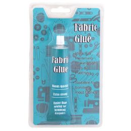 72 Units of 1.23oz Tube Sewing Fabric Glue - Glue