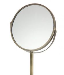 6 Units of Vanity Mirror Bronze Finish - Cosmetic Displays
