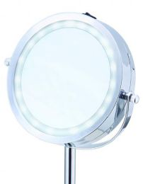 6 Units of Vanity Mirror with LED Lights - Cosmetic Displays