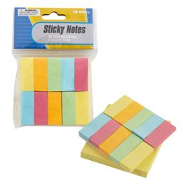 72 Units of 3x3 Yellow Pad W/color Flags Sticky Notes - Sticky Note & Notepads