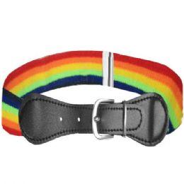 36 Units of Kids Stretchable Rainbow Belt - Kid Belts