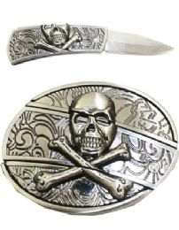 12 Units of Knife Belt Buckle - Belt Buckles