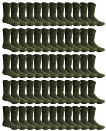 120 Units of Yacht & Smith Men's Army Socks, Military Grade Socks Size 10-13 (120) - Mens Crew Socks