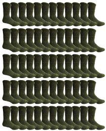 60 Units of Yacht & Smith Men's Army Socks, Military Grade Socks Size 10-13 (60) - Mens Crew Socks