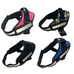 24 Units of No-Pull Dog Harness [XXLarge] - Pet Collars and Leashes