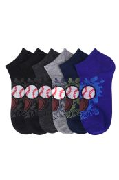 432 Units of Toddlers Spandex Ankle Socks Size 4-6 - Boys Ankle Sock