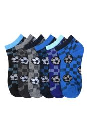 432 Units of Toddlers Spandex Ankle Socks Size 6-8 - Boys Ankle Sock