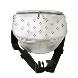 24 Units of Oversize Fanny Pack in Silver - Fanny Pack