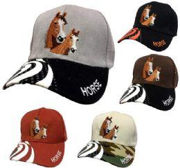 24 Units of Baseball Cap Hose Design - Baseball Caps & Snap Backs