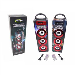 4 Units of Premium Hi Fi Portable Tower Speaker - Speakers and Microphones