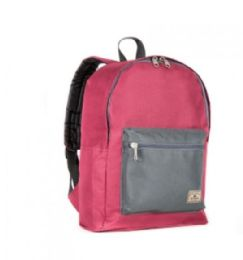 "30 Units of Everest Basic Color Block Backpack In Red And Black - Backpacks 15"" or Less"