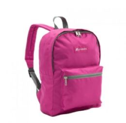 "30 Units of Everest Basic Color Block Backpack In Magenta Orchid - Backpacks 15"" or Less"