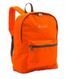 """30 Units of Everest Basic Color Block Backpack In Orange - Backpacks 15"""" or Less"""