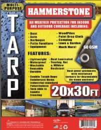 5 Units of Light Weight Tarps Blue - Tarps