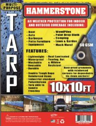 30 Units of Light Weight Tarps Blue - Tarps