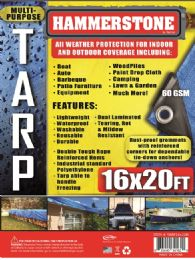10 Units of Light Weight Tarps Blue - Tarps