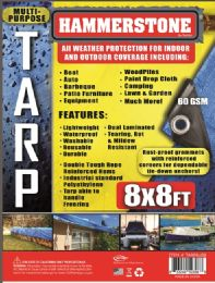 50 Units of Light Weight Tarps Blue - Tarps