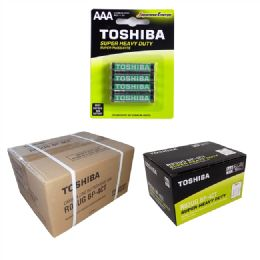 288 Units of AAA TOSHIBA Heavy Duty Batteries - Batteries